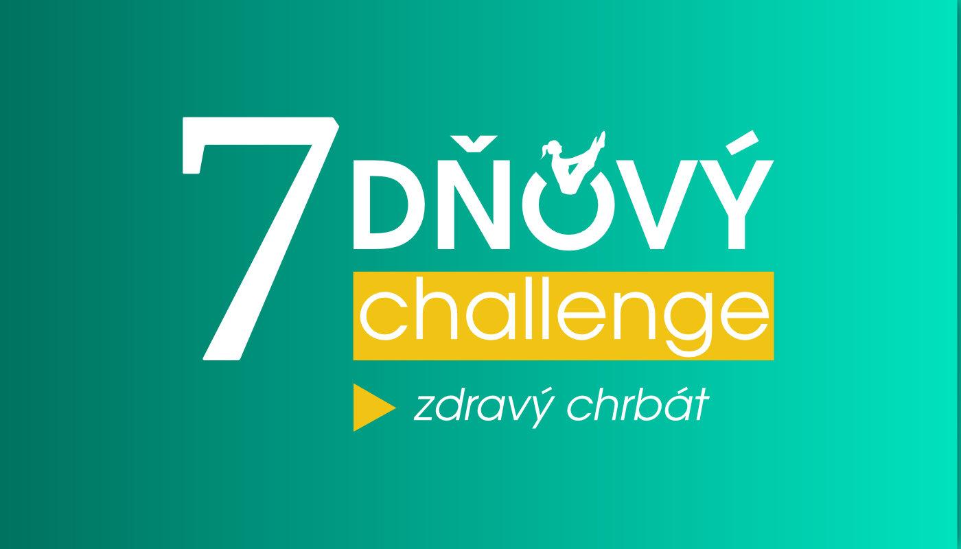 7 dňová výzva - zdravý chrbát