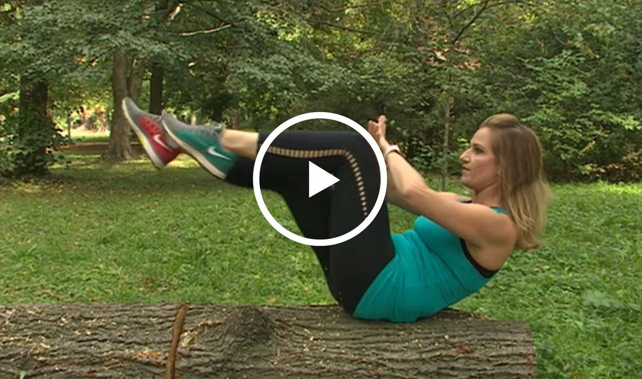 Cvičenie v parku
